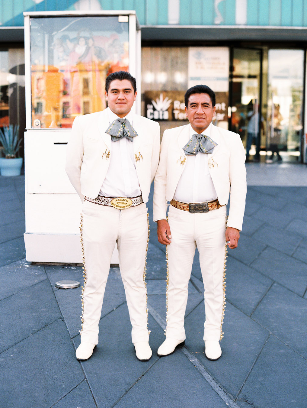 Portraits of mariachi of Plaza Garibaldi in Mexico City